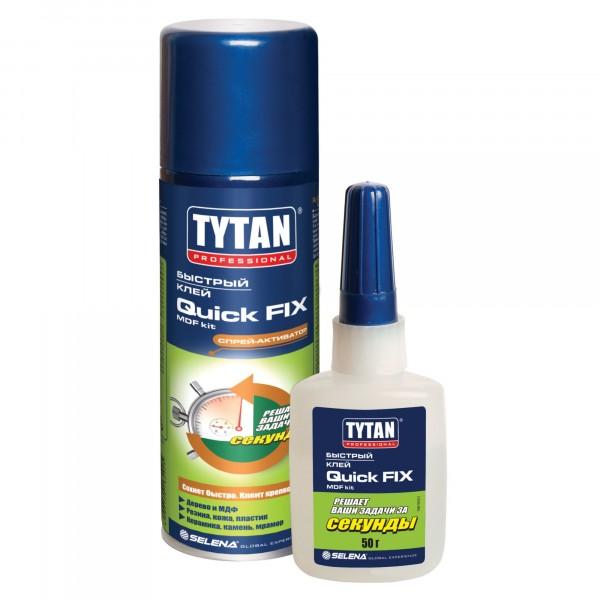 клей цианакрилатный tytan professional двухкомпонентный 200мл./50мл.