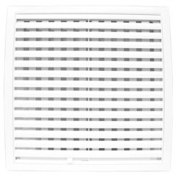 Решетка вентиляционная пластмассовая 150*150 ЭРА 1515РРП