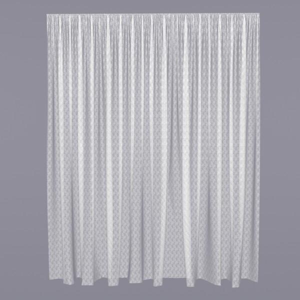 тюль мелкий вензель 73401138 3,0х2,6м сетка белый салфетки томдом вензель
