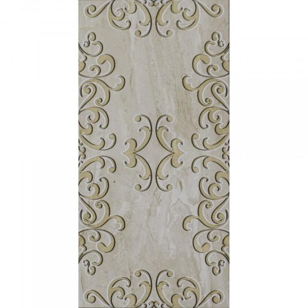 плитка настенная sezar beige glossy ceramic dec 30х60 бежевый керамогранит milano beige 30х60 1 62