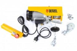 Тельфер электрический DENZEL TF-250 0,25т (540Вт,12м,230В) 52011
