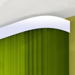 Карниз Галант с поворотами белый глянец 2,4м