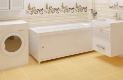 Экран для ванны Универсал-ультра 1,48м белый