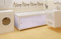 Экран для ванны Универсал-ультра 1,68м розовый иней