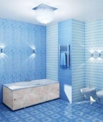 Экран для ванны Премиум А 1,48м облако беж