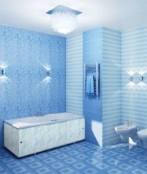 Экран для ванны Премиум А 1,48м океан