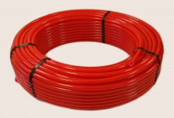 Труба PERT красная для теплого пола 16х2,0 (100м)