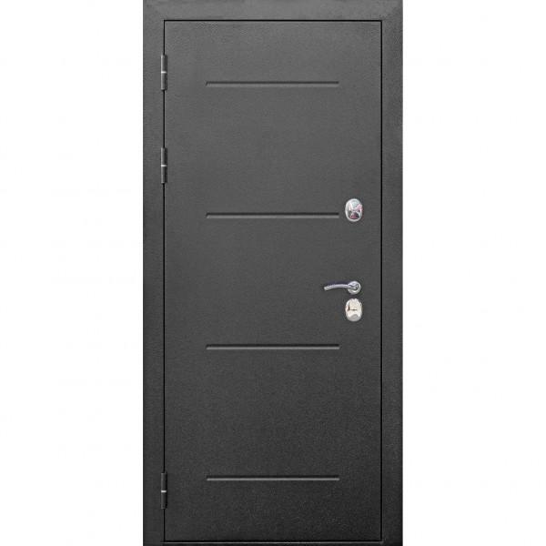 Фото - дверь входная 11 см isoterma серебро темный кипарис царга (960мм) левая 2050х960 левая, дверь входная garda муар царга 2050х960мм левая тёмный кипарис