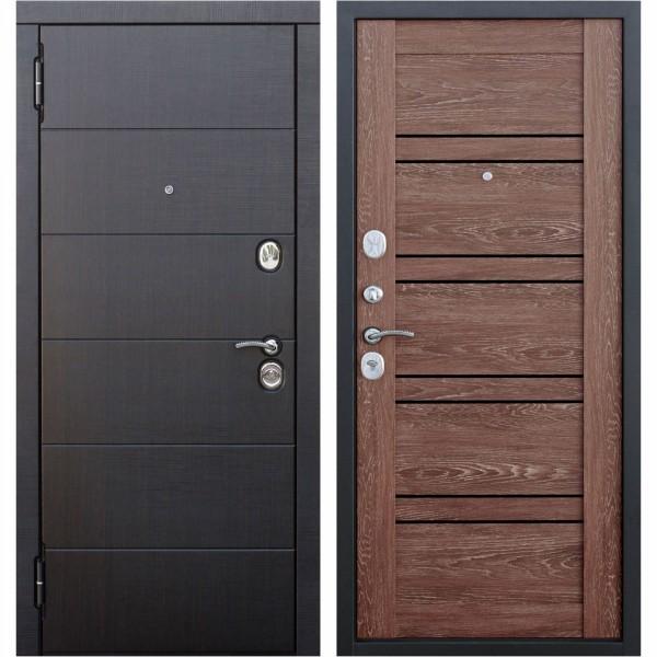 дверь входная 10,5 см чикаго дуб шале корица царга (860мм) левая 2050х860 левая, дверь входная 10 5 см чикаго дуб шале графит царга 960мм права 2050х960 правая
