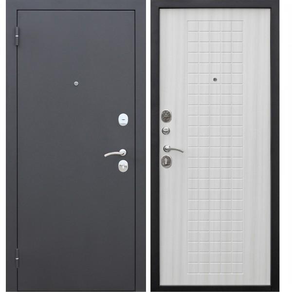 Фото - дверь входная garda муар 8мм 2050х960мм левая, белый ясень дверь входная garda муар царга 2050х960мм левая тёмный кипарис