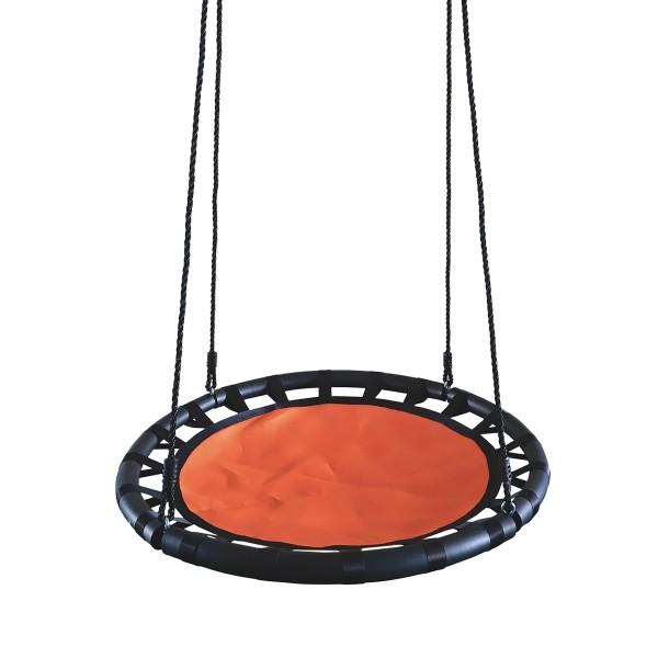 Фото - качели чудесный сад 035.3 корзинка оранжево-черные, макс.нагр.150кг качели