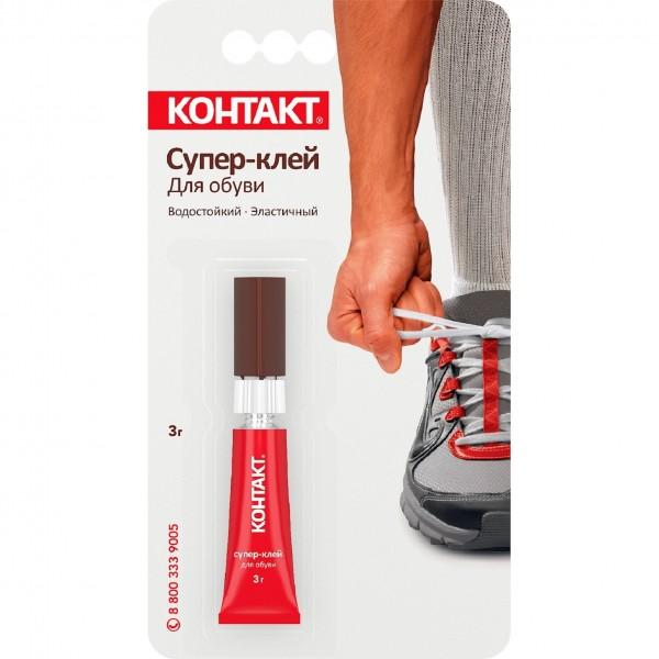супер-клей контакт для обуви 3 г