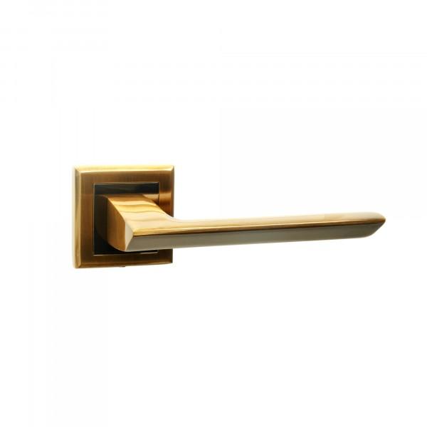 комплект ручек дверных bussare цвет графит античная бронза ручка дверная bussare, цвет кофе 0828