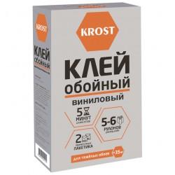 Клей для обоев KROST виниловый 5-6 рулонов 200г