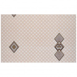 Обои С6БР Уют симплекс 0,53*10,05м геометрия, коричневый