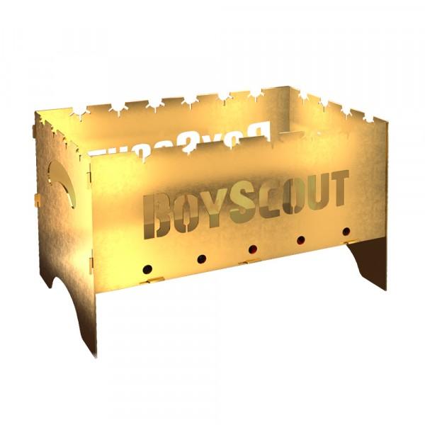 мангал складной gold boyscout (с сумкой) 500х310х310х1,5 мм мангал boyscout 61391