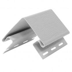 Угол внешний для сайдинга FineBer, цвет белый, 3.05 м