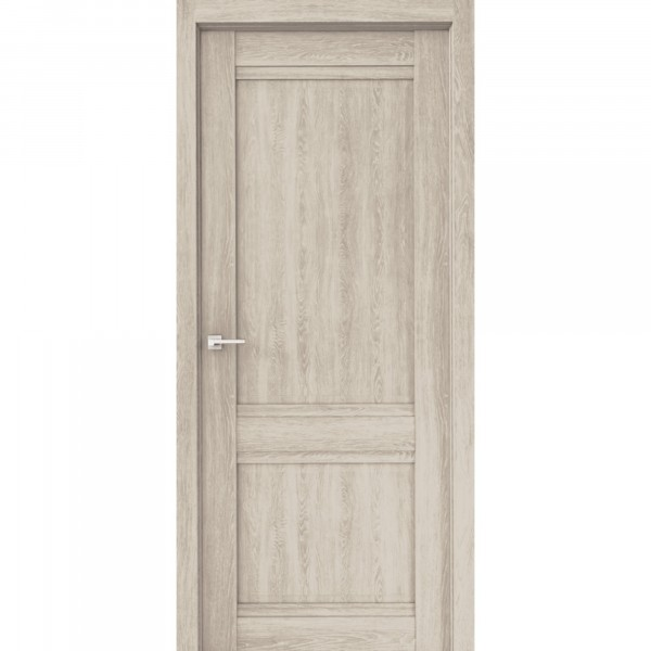 полотно дверное глухое эко сицилия дг,пвх 2000х800мм,дуб филадельфия крем