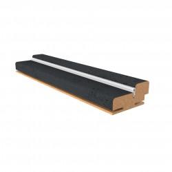 коробочный брус плоский,ПВХ  2070*32*70 мм.,бетон тёмный