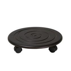 Комплект подставок напольных на колесах спираль венге 2620955003