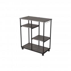 Консоль Вэстри серый бетон 2563458202
