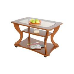Стол журнальный Маэстро сжс-02 вишня со стеклом 3525160904