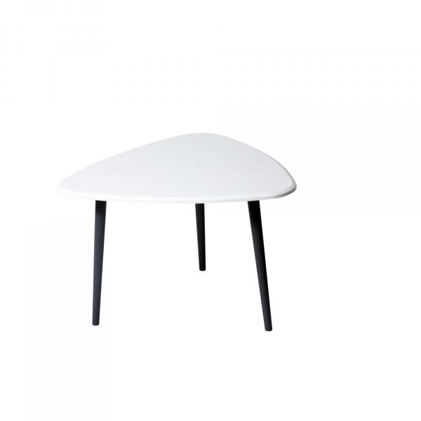 стол журнальный квинс белый 0244700301
