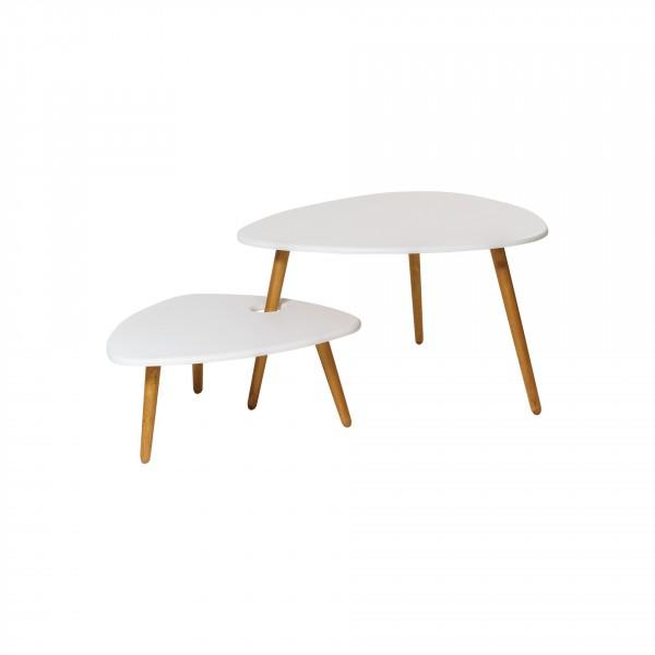 стол журнальный стилгрей белый 1781541101
