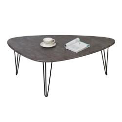 Стол журнальный Престон серый бетон 2602562901