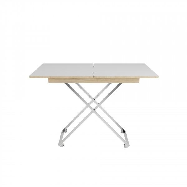 стол универсальный андрэ менсола трансформируемый дуб сонома 2563458703 школьные парты дэми стол универсальный трансформируемый сут 24 столешница белая