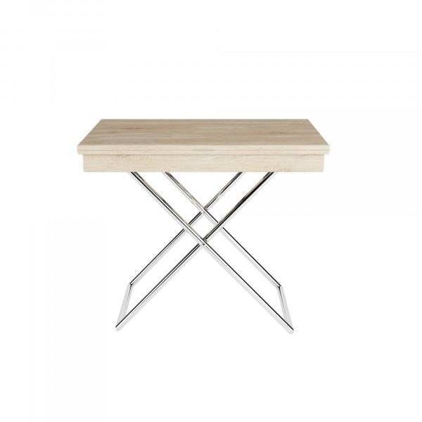стол универсальный андрэ трансформируемый дуб сонома 9440045103 школьные парты дэми стол универсальный трансформируемый сут 24 столешница белая