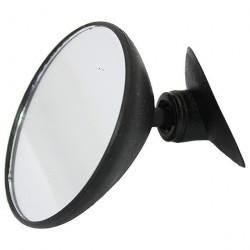 Зеркало внутрисалонное Auto Standart круглое 85 мм на присоске 103524