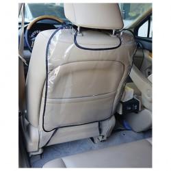 Накидка автомобильная для защиты спинки переднего сидения Auto Standart прозрачная 101304