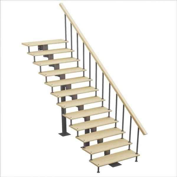 лестница стандарт, прямой марш, h 2025-2115см