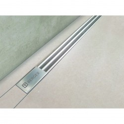 Трап душевой нержавеющая сталь Berges Super Slim 700 090153