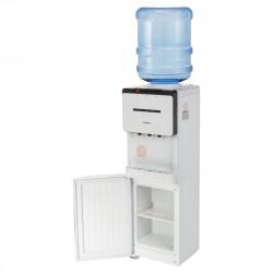 Кулер для воды Sonnen fse-03 напольный,нагрев/охлаждение электронное, 3 крана,белый/черный 453979