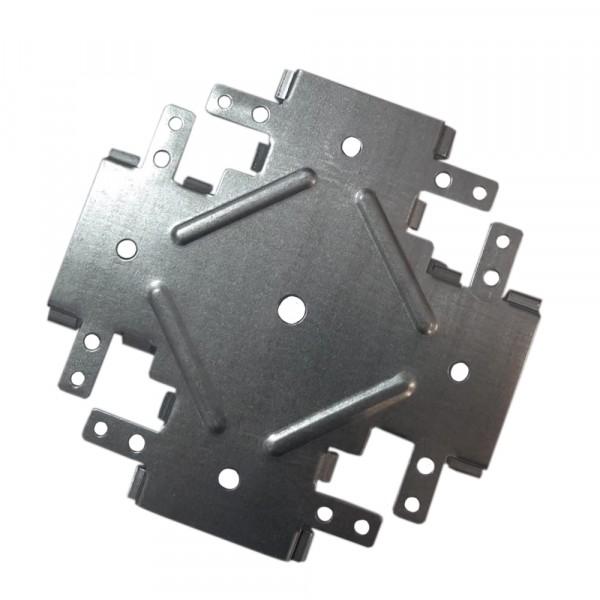 подвес прямой для потолочного профиля 60х27 мм премиум соединитель потолочного профиля одноуровневый гипрофи 60х27 (краб)
