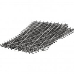 Сетка сварная кладочная в картах ,d 4 мм, размер ячейки 50х50 мм, размер сетки 0,5 х 2 м (1м2)