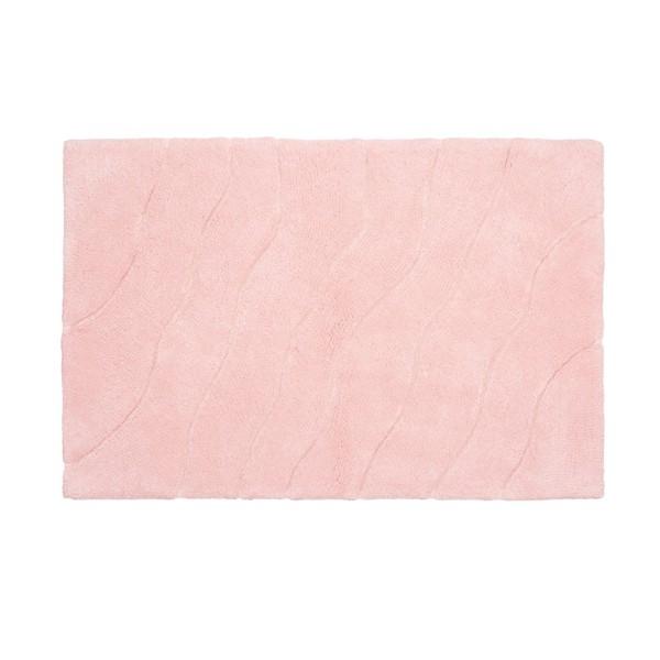 коврик для ванной комнаты fora rk 13 лист коврик для ванной комнаты 50*50 хлопок волна розовый