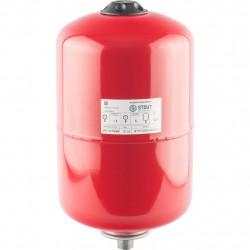 Расширительный бак для отопления 12л STOUT красный