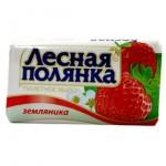 Мыло ЛЕСНАЯ ПОЛЯНКА 90г Земляника /Нэфис/