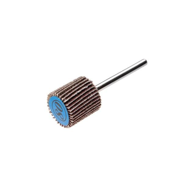 круг лепестковый радиальный для мини-дрели hammer flex 219-007, 31мм*10мм, p80