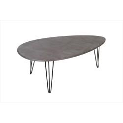Стол журнальный Шеффилд серый бетон 5297671101
