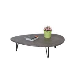 Стол журнальный Дадли серый бетон 0008758201