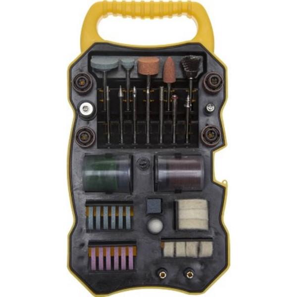 набор мини-насадок stayer master для гравировальных машин, 82шт, кейс 29901-h82 паяльник stayer 150вт maxterm master 55311 150