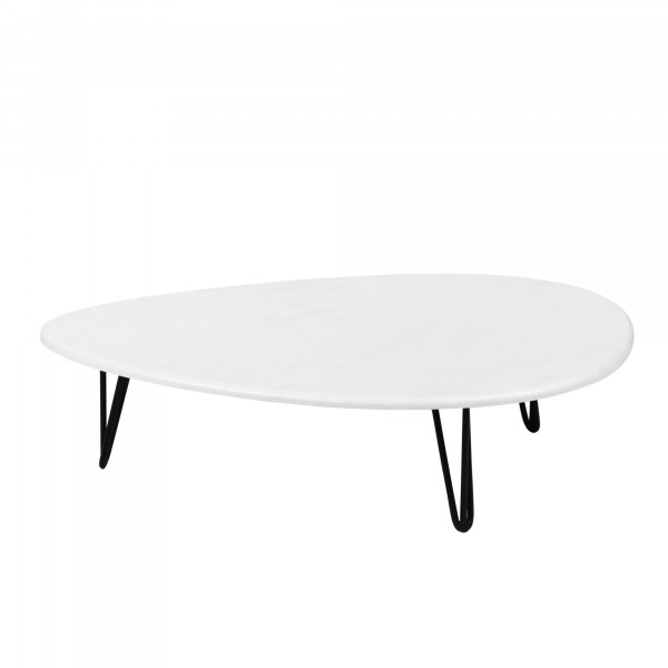 стол журнальный дадли белый бетон 0008758202