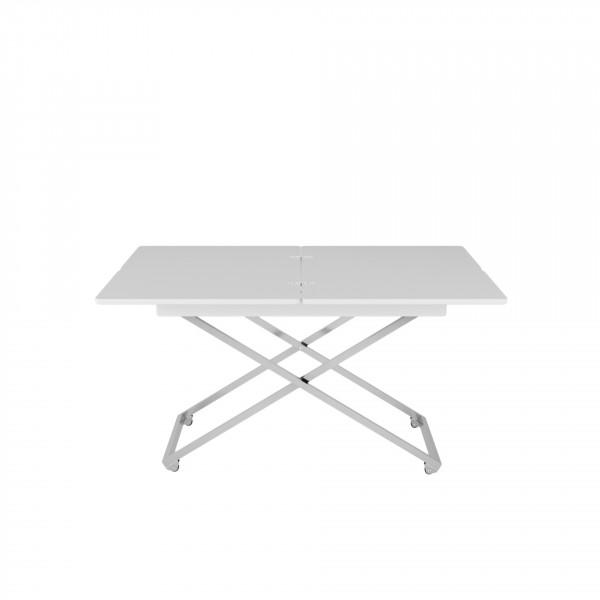 стол универсальный андрэ менсола трансформируемый белый 2563458702 школьные парты дэми стол универсальный трансформируемый сут 17 столешница клен