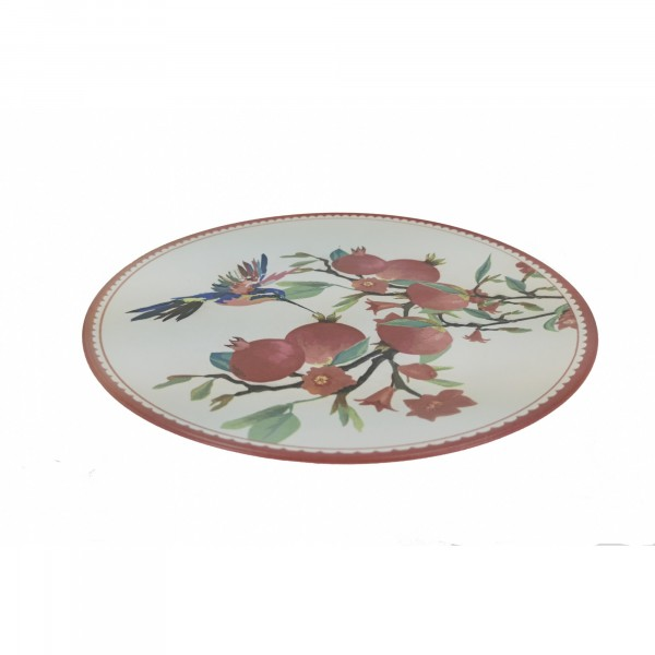 тарелка 20см гранаты керамика gr19154-20 тарелка декоративная lefard бабочка 20см настенная керамика