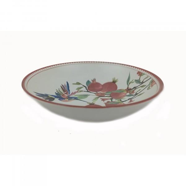 Фото - тарелка 22см гранаты глубокая gr19154-22 тарелка home cafe десертная желтая 22см керамика