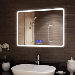 Зеркало с подсветкой Demure Led 915х685 с музыкальным блоком, подогревом